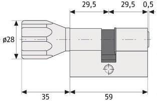 abus ec550 knaufzylinder wendeschl ssel vs inkl 3 schl ssel nikki service. Black Bedroom Furniture Sets. Home Design Ideas